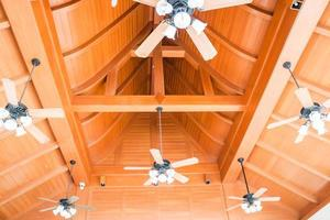 Group of ceiling fans