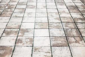 Gray stone floor