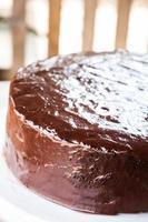 pastel de chifón de chocolate