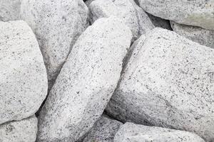 rocas grises afuera foto