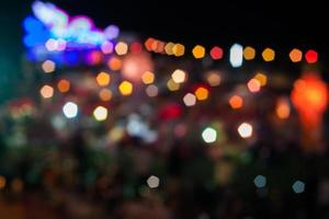 Abstract blurred lights photo