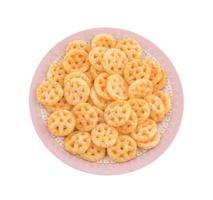 Salty wheels snack