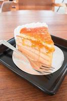 pastel de mermelada de naranja foto
