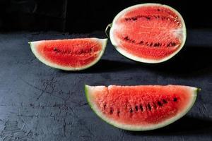 fruta fresca de sandía