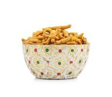 Sev in a decorative bowl