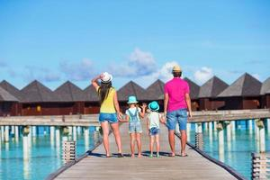Maldives, South Asia, 2020 - Family on summer vacation
