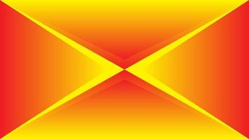 Abstract background outline triangles in orange color vector
