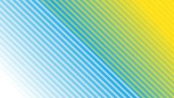 rayas diagonales abstractas con gradación azul y amarilla