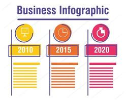 Business and corporate infographic banner vector