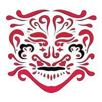 Ethnic pattern. Beauty ornament in boho style. vector