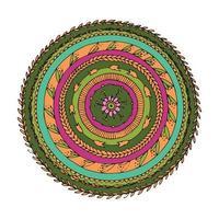 Floral mandala ornament