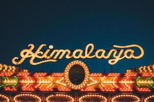 Los Angeles, 2020 - Himalaya sign at the Fair photo