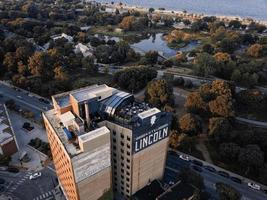 fotografía aérea de edificios