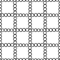 Hand drawn, black outlined circles pattern
