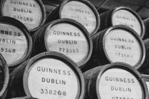 Guinness Dublin barrel lot