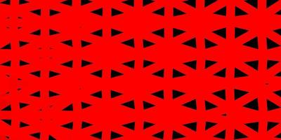 Light red triangle mosaic design.