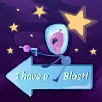 I have blast social media post