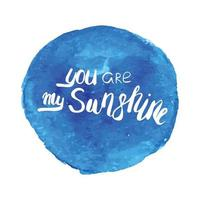 Motivational quote lettering