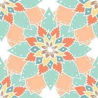 Flower mandala pattern. vector