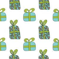 Merry Christmas gifts pattern