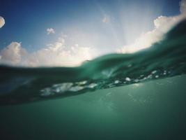 A view underwater