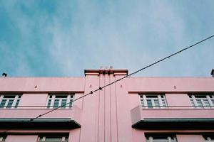 Pinky fancy building photo