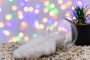 Christmas background for the advent season photo