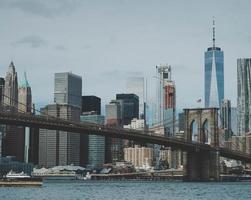 Brooklyn Bridge during the day