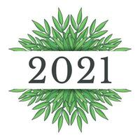 New year 2021 design