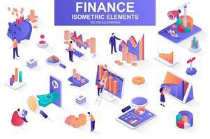 Finance bundle of isometric elements.