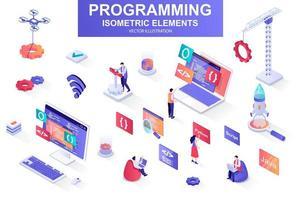 Programming bundle of isometric elements.