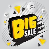 plantilla de promoción de gran venta