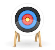 objetivo para disparar flechas