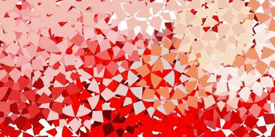 Red texture with triangular style.