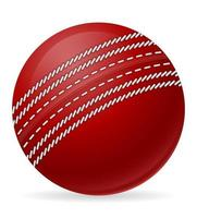 Cricket ball for a sports game