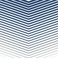 Blue striped background design vector