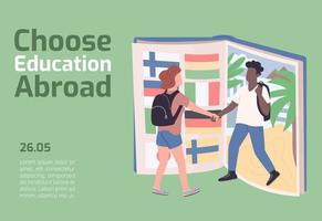 Choose education abroad banner