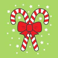 Christmas Candy Canes vector