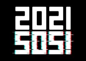 2021 inverted SOS poster