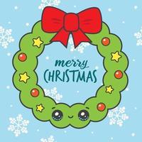 Kawaii Christmas Wreath