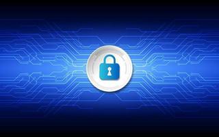 seguridad de la tecnología abstracta en el fondo de la red global