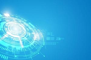 Sci-fi technology futuristic concept background vector