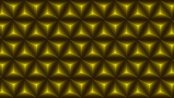 Abstract geometric golden gradient polygons pattern