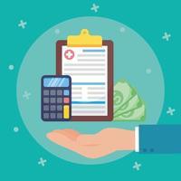 composición del concepto de servicio de seguro médico