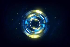 Fondo futurista abstracto de alta tecnología