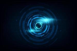 Fondo abstracto de tecnología futurista