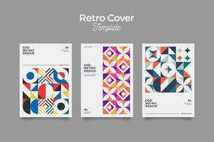Retro Layout Covers vector
