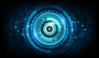 Fondo abstracto de tecnología futurista vector