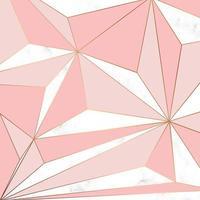 diseño de textura de mármol vectorial con líneas geométricas doradas
