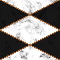diseño de textura de mármol con líneas geométricas doradas